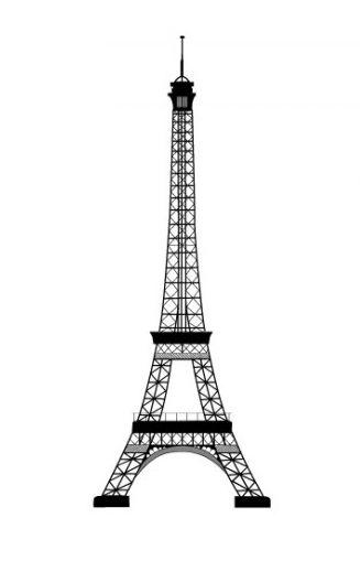 Vinilo torre eiffel http://bit.ly/1pJBcL6