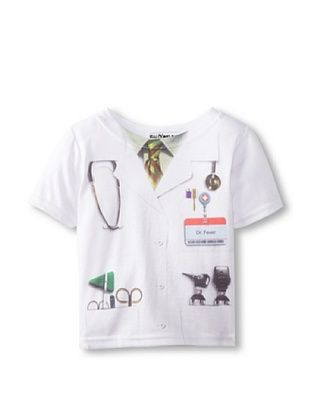 44% OFF Faux Real Kid's Doctor Tee (White)