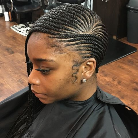 Small Side Feed In Braids Lemonade Feed In Braid