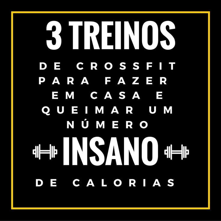 3 Treinos de CrossFit Para Queimar Calorias em Casa.