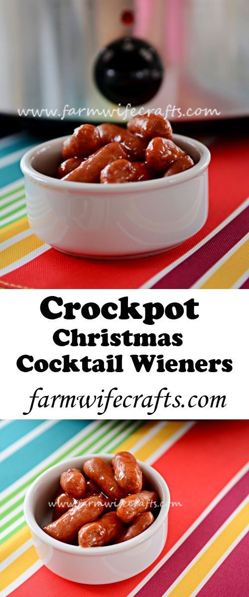 Looking for an appetizer to take to your next gathering? These cocktail weiners are always a hit plus they can be made in the crockpot!