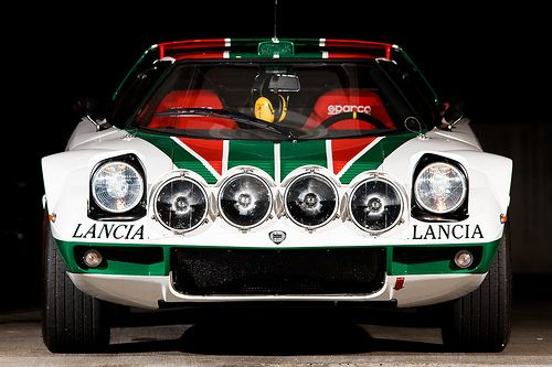 automotivated:    Lancia Stratos - Front (by bennorz)