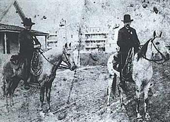 Houston police officers in the 19th Century