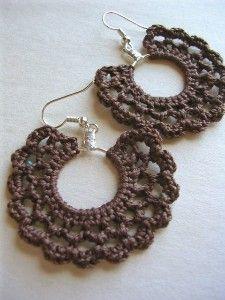 Flirty Girl Earrings in Chocolate