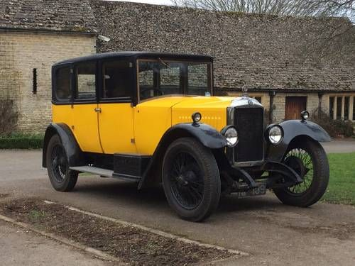 1926 Vauxhall 14/40 Bedford Saloon - Sole Survivor