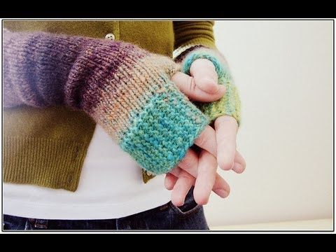 How to Knit YOGA SOCKS: Easy for Beginning Knitters - YouTube
