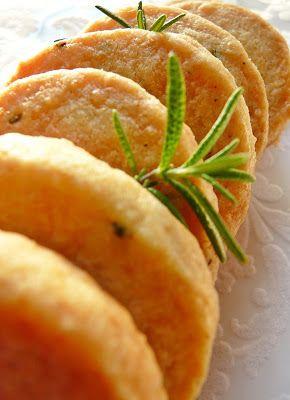 Candy's: Parmezános-rozmaringos keksz