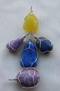lapis lazuli, lepidolite, lizardite