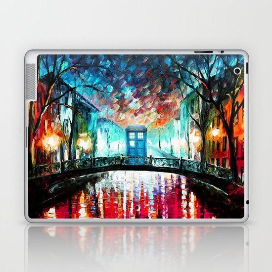 Tardis With Beautiful Starry Night - $25