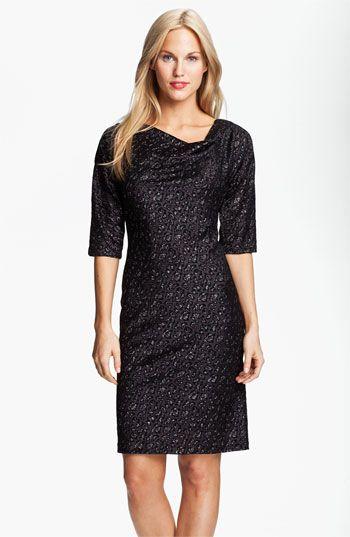 Black dress 1920s style 10