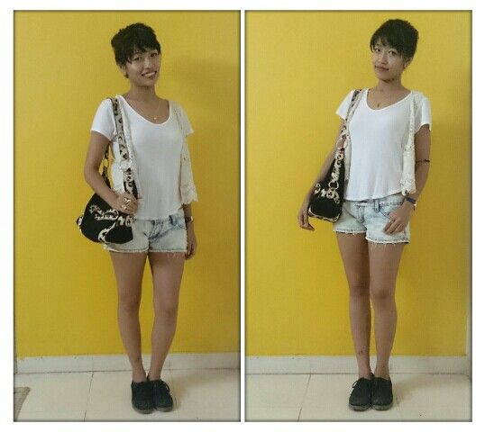 Casual look..ready for shopping!