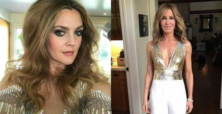 Drew Barrymore e outras estrelas mostram o 'antes e depois' da preparação para o Globo de Ouro