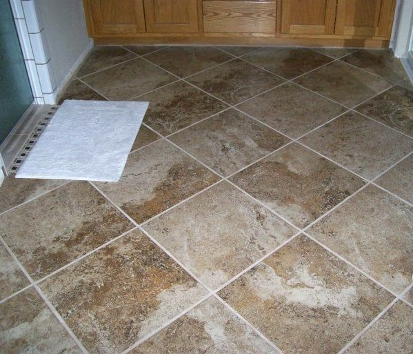 How Much Does It Cost To Buy And Install Ceramic Tile Ceramic Floor Tiles Tile Installation Bathroom Tile Installation