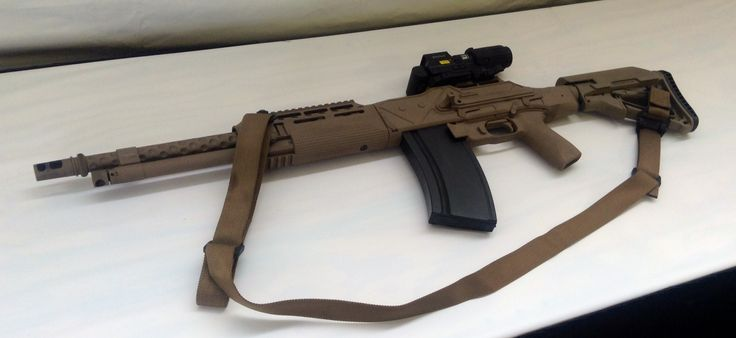 Interesting...Heavy Combat Assault Rifle (HCAR) from Ohio Ordnance Works is a…