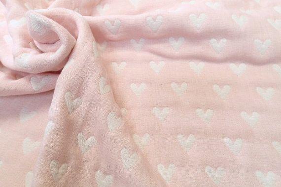 Throw blanket baby blanket gauze blanket muslin by MIKIbabyblanket