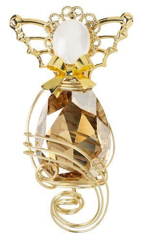 8a8cfc1e9a99 Jewelry Design - Angel Pin with Swarovski Crystal Rhinestone Fancy Stone