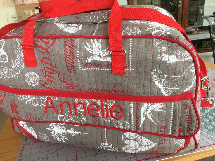 Duffelbag made for Annelie