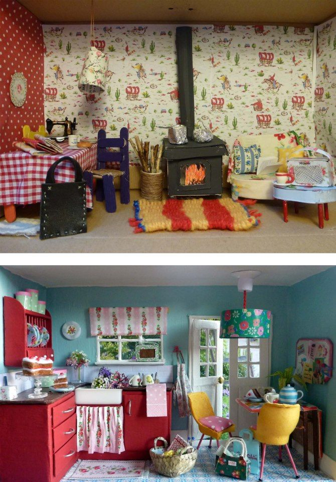 Kitchen Diorama Made Of Cereal Box: Best 25+ Shoe Box Diorama Ideas On Pinterest