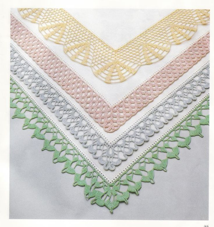 pretty crochet edging