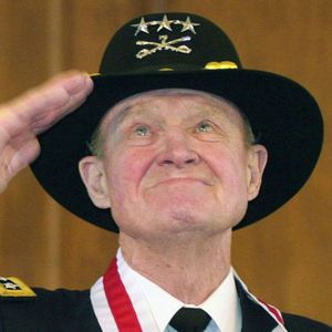 "Retired Lt. Gen. Hal Moore, a co-author of ""We Were Soldiers Once … and Young,"" died Friday, Feb. 10, 2017, in Auburn, Alabama. #weweresoldiers #restinpeace #military"