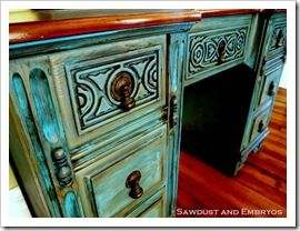 How to glaze, whitewash, and distress furniture