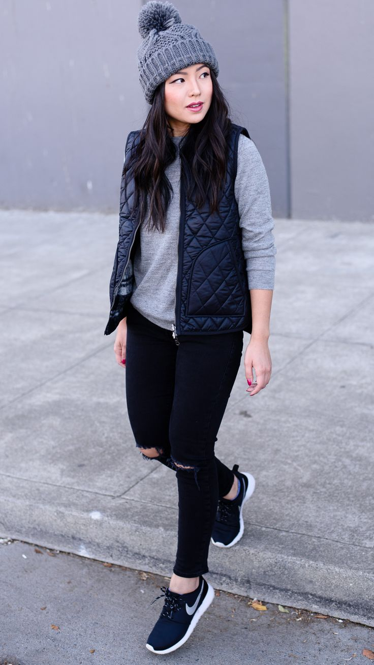 17+ best ideas about Black Sneakers Outfit on Pinterest | Sneakers street style Fashion clothes ...