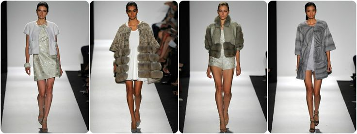 Faux fur fashion spring/summer 2015 - Denis Basso