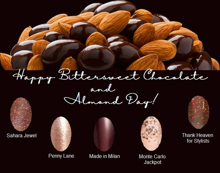 November 7 2014 National Bittersweet Chocolate With Almonds Day Bittersweet Chocolate Chocolate Holiday Recipes