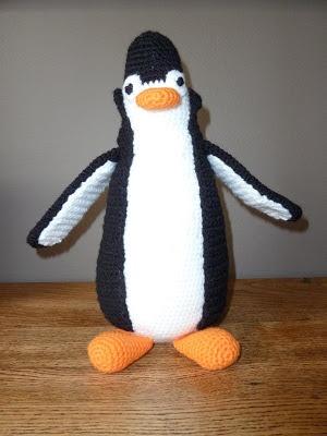Haakpatroon Amigurumi Penguin : Poekie: haakpatroon pingu?n (gratis!) Haken Pinterest