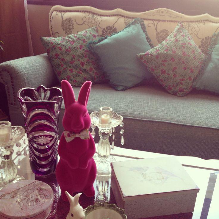 Rabbit Provencal decoration