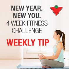 Week 1 Tip: Hang a full-length mirror in your gym to ensure you're using the right form.  Check out the New Year, New You contest to see how we can help you bring out the new you! Plus you can enter for the chance win one of the great prizes offered!
