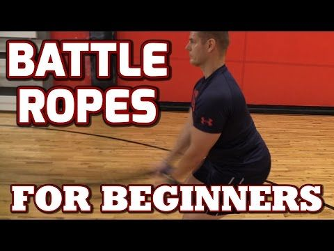 Battle Ropes for Beginners (Use Battling Ropes like a Pro!) - YouTube