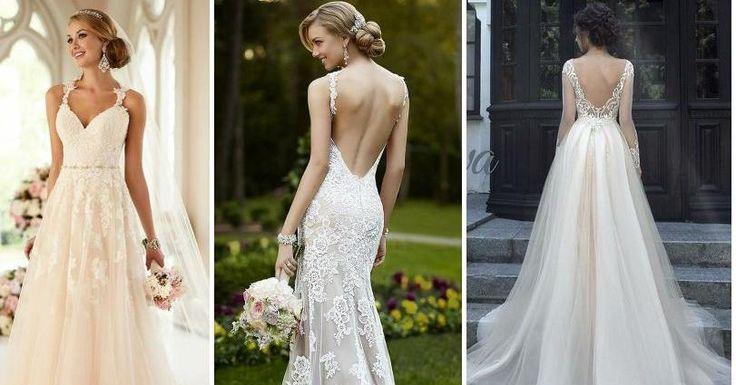 20 vestidos de novia para vivir tu propio cuento de hadas