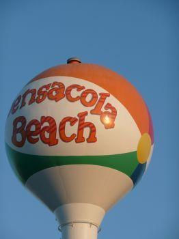 Pensacola Beach, FL: Water Towers, Florida Home, Florida Girls, Favorite Places, Beaches Ball, Pensacola Beaches Florida, Sweet Home, Places I Ve Been, Florida Spring