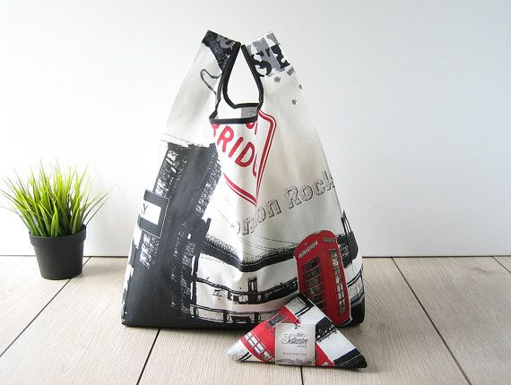 united kingdom tote bag / urban style bag / by AtelierSettembre - these such the stylish and eco friendly shopping bags!