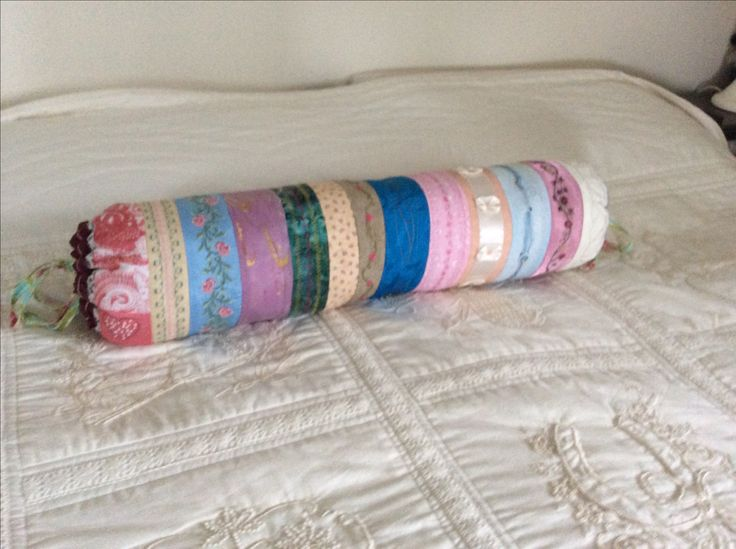 A bolster made by the Beachport Craft Group for me last time the cancer flared up.