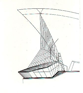 Sydney Opera House original drawings