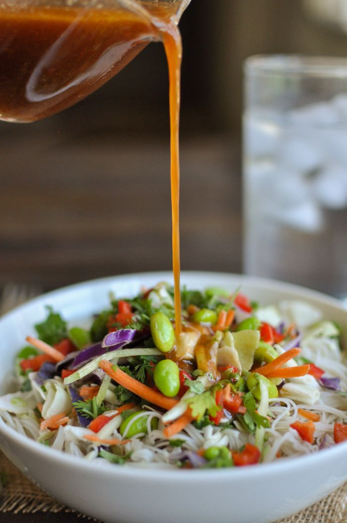 Chinese Chicken Salad With Sesame Ginger Vinaigrette Recipe ...