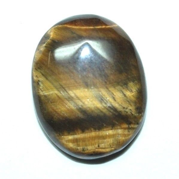 Natural 100%Tiger Eye Gemstone Heart Shap Beautiful India Hand Mea 20.50.CT #Unbranded