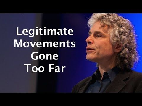 "Political Correctness is ""decadent phase"" of once legitimate movement - Steven Pinker - YouTube"