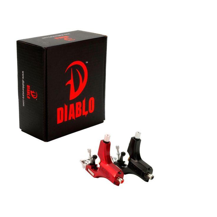 Diablo V2 Swiss Short 2.5mm Stroke Rotary Tattoo Machine