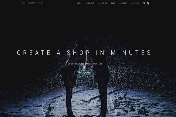 ShopIsle Pro-Elegant eCommerce Theme by ThemeIsle on @creativemarket