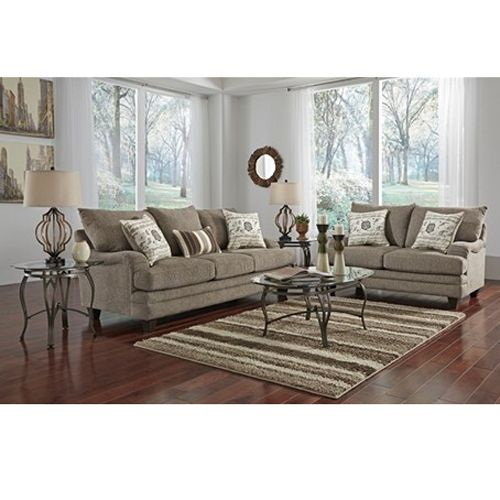 Woodhaven 7 piece mello collection our new house - Woodhaven living room furniture collection ...