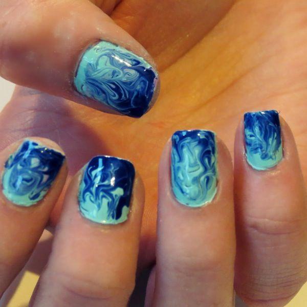 Nail Art Videotutorial Mezcla de colores