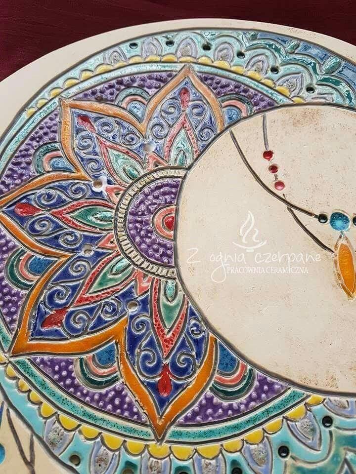 """Mandala moon"" by Z ognia czerpane"