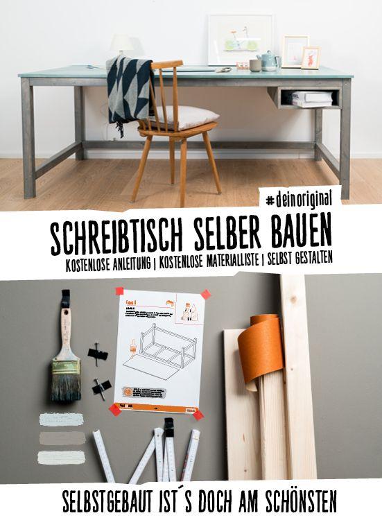 Schon Schreibtisch Egon Selber Bauen   Tische | Tische Jetzt Selber Bauen   DIY |  Pinterest | Diy Schreibtisch, Schreibtisch Selber Bauen Und Arbeitsplatte