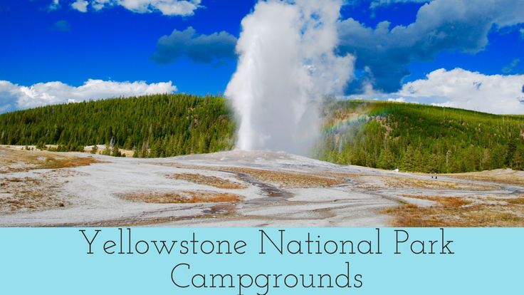 Planning an RV Trip to Yellowstone? Everything you need to know to decide which Yellowstone campground is best for you!