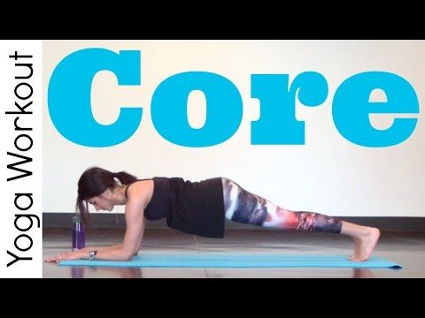 Core - Power Yoga Workout - YouTube