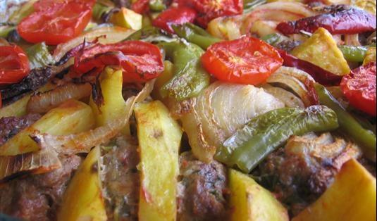 Fırın Köfte Tarifi / Marifetlitarifler'den yemek tarifleri
