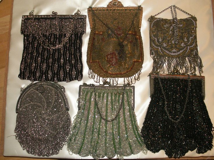 I've been collecting old purses for years. I'd love to add these to my collection.